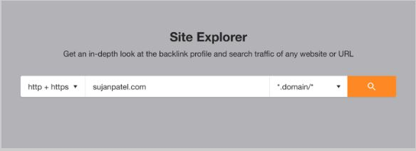 search your competitors website for guest posting